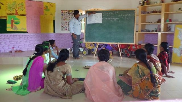Telugu Teacher Training in the summer holidays 2015